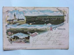 AK    ST. MARGARETHEN  BEI  OEDENBURG SOPRON  BERGENLAND   LITHO    1899. - Österreich