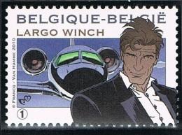 Année 2010  - COB 3994** Largo Winch -  Cote 3,00€ - Unused Stamps