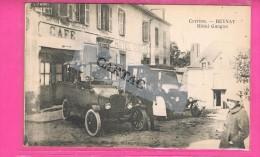 D19. BEYNAT. CORREZE. HOTEL GUEGAN. Très Belle Animation, Automobiles. ( Belle Carte ). - Francia