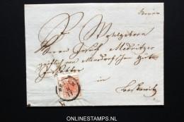 Österreich: 1855 Complete Letter Brünn To ? Lostkowitz  Mi Nr 3X - 1850-1918 Imperium