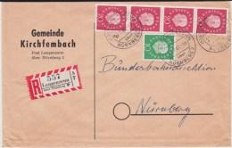 Bund Div PSt I Stempel Langenzenn ü Nürnberg RBf 1961 - Briefe U. Dokumente