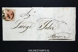 Lombardei Und Venetien: Complete Letter Cremona To Bresia 1857 - 1850-1918 Imperium