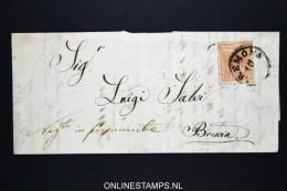 Lombardei Und Venetien: Complete Letter Cremona To Bresia - 1850-1918 Imperium