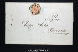 Lombardei Und Venetien: Cover Verona To Bresia - 1850-1918 Imperium