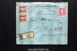 Österreich: Feldpost R Letter Strip Nr 61, Lublin To Wien - Storia Postale