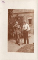 CP Photo Juin 1915 ASCHAFFENBURG - Deutsch Soldaten Im Lazarett (A113, Ww1, Wk 1) - Aschaffenburg