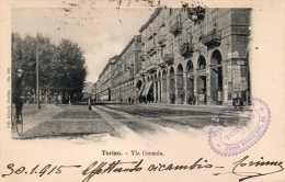 1915 TORINO VIA CERNAIA - Otros Monumentos Y Edificios