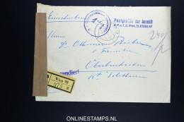 Osterreich 1948 R-brief Postgebühr Bar Bezahlt  Wien To Oberbuchsiten Switserland. - 1945-60 Storia Postale