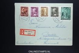 Osterreich  1947 R-Brief Linz To Graz MF.  Mi 892 - 1945-.... 2nd Republic