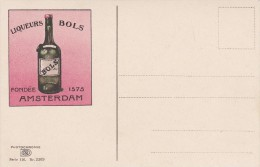 PAYS-BAS----VOLENDAM--liqueurs BOLS Fondée 1575  AMSTERDAM---voir 2 Scans - Volendam