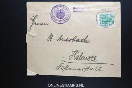 Germany: Hauptkwartier Sr. Majestat des Kaisers und K�nings Feldpost cover uprated