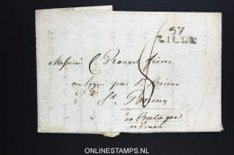 France Complete Letter  57 Lille - Marcophilie (Lettres)