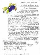 SCHANGI  KIENTZ   LETTRE N° 14  ILLUSTREE 1992  -  TIRAGE LIMITE - Français