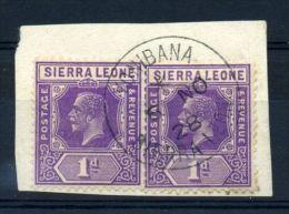 SIERRA LEONE KG5 AMAZING POSTMARK! - Sierra Leone (...-1960)