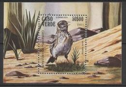 Cabo Verde - Cape Vert (1981) Yv. Bf. 3  /  Aves - Birds - Oiseaux - Vogel - Vogels