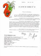 SCHANGI  KIENTZ   LETTRE N° 20 ET ENVELOPPE  ILLUSTREE 1994  -  TIRAGE LIMITE - Français