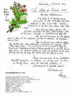 SCHANGI  KIENTZ   LETTRE N° 22  BONNE ANNEE 1995   ILLUSTREE 1994  -  TIRAGE LIMITE - Français