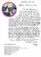 SCHANGI  KIENTZ   LETTRE N° 21  CHAT   ILLUSTREE 1994  -  TIRAGE LIMITE - Français