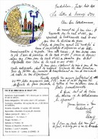 SCHANGI  KIENTZ   LETTRE N° 24  CHAT   ILLUSTREE 1995  -  TIRAGE LIMITE - Français