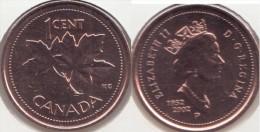 Canada 1 Cent 2002P Golden Jubilee Queen Elizabeth Km#445 P - Used - Canada