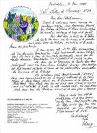 SCHANGI  KIENTZ   LETTRE N° 23 1995 ILLUSTRATION ORIGINALE  -  TIRAGE LIMITE - Français