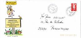SCHANGI  KIENTZ   ENVELOPPE PUBLICITAIRE  MARCKOLSHEIM 1994  ILLUSTRATION ORIGINALE  -  TIRAGE LIMITE - Français