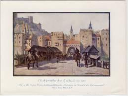 DI ALT PRUCKHN YBER DI SALTZACH  - Sammelbild # 13, 1919 Zu Andre Hofer (Feigenkaffeefabrik) Bilderreihe  ... - Thé & Café