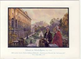 MOZART Im MIRABELLGARTEN - Sammelbild # 19, 1919 Zu Andre Hofer (Feigenkaffeefabrik) Bilderreihe  ... - Thé & Café