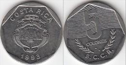 Costa Rica 5 Colones 1993 Km#214.1 - Used - Costa Rica