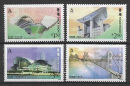 Hong Kong (1997) Yv. 834/37  /  Bridges - Ponts - Puentes - Ponti