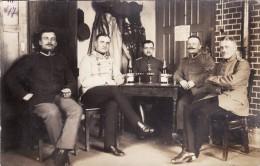 CP Photo Mars 1916 Officiers Allemands Du IR 161 (A113, Ww1, Wk 1) - Guerre 1914-18