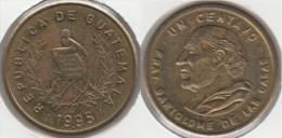 Guatemala 1 Centavo 1995 Km#275.5 - Used - Guatemala