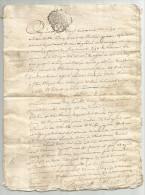 LOT Années 1760 /1775 - 8 Ecrits à Déterminer, 31 Pages En Tout, Papier Filigrané, Cachets Auvergne - Manuscripts