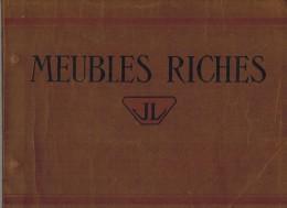 CATALOGUE ILLUSTRE FABRIQUE MEUBLES RICHES Illustré 22 Planches Chambre Armoire Panetière Chaise Table Buffet Roanne - Mobili
