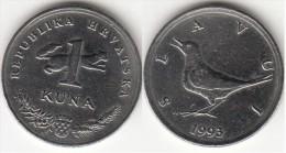 Croazia 1 Kuna 1993 (Slavuj) Km#9.1 - Used - Croazia