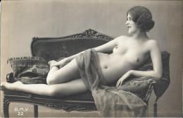 Cpa  Nu Authentique. BMV 22-2 - Beauté Féminine D'autrefois < 1920