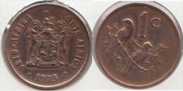 Sud Africa 1 Cent 1973 Km#82 - Used - Sud Africa