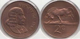 Sud Africa 2 Cents 1965 Km#66.2 - Used - Sud Africa