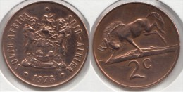 Sud Africa 2 Cents 1973 Km#83 - Used - Sud Africa