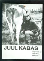 Artiste ( Geen Postkaart ) - Chanteur - Chanteuse - Zanger - Zangeres : Juul Kabas - Zangers En Musicus