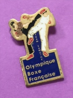 BOXE OLYMPIQUE FRANCAISE TEAM LAMOTHE - Boxing
