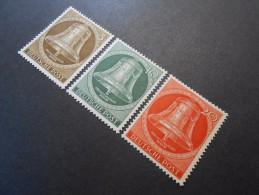 Berlin (West)  Mi101-103* -  Freiheitsglocke  1951 - Unused Stamps
