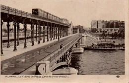 75 PARIS Métro Le Viaduc De Passy - Métro Parisien, Gares
