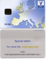 @+ Carte à Puce V Pay (Demonstration Purposes Only) - France