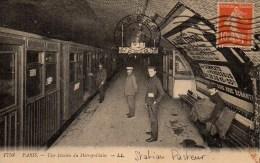75 PARIS Métro . Une Staion Du Métropolitain (Pasteur) - Métro Parisien, Gares