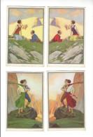 Corbella, Lot 8 Cartes ( Charme, Amour, Nature Montagne ) - Corbella, T.