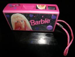 BARBIE - VERITABLE APPAREIL PHOTO A PELLICULE SANS FLASH - FONCTIONNE PARFATEMENT - VOIR PHOTOS - Barbie