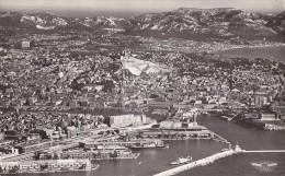 Marseille 13 - Panorama Port Ville - 1956