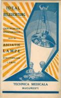 IDEAL BELEUCHTUNG DES Chirurgischen Operationssaales - ASCIATIK Lampe SCHATTENLOSE BUCURESTI Technica Medicala - Bücher, Zeitschriften, Comics
