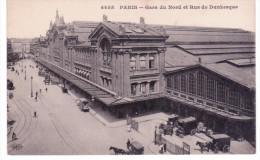 Paris - Gare Du Nord Et Rue De Dunkerque - Metropolitana, Stazioni